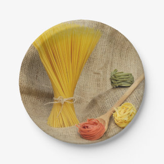 Pasta Paper Plate