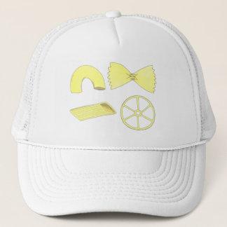 Pasta Shapes Italian Food Macaroni Penne Foodie Trucker Hat