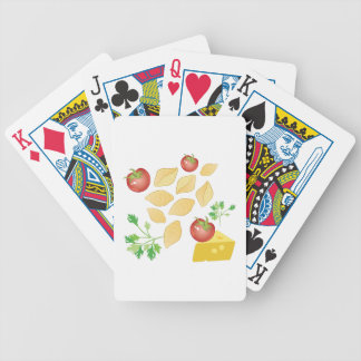 Pasta Shells Bicycle Playing Cards