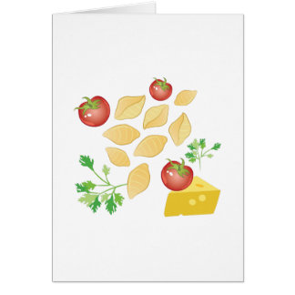 Pasta Shells Card
