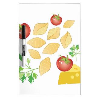 Pasta Shells Dry Erase Board