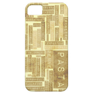 Pasta Types and Assorted Variety of Pastas iPhone 5 Cases
