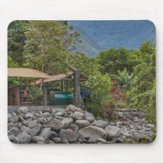 Pastaza River and Leafy Mountains in Banos Ecuador Mouse Pad