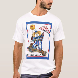 Paste-A-Face In The Clown T-Shirt