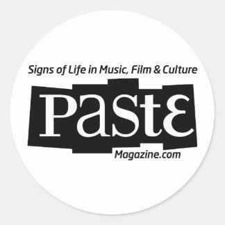 Paste Block Logo Url and Tag Black
