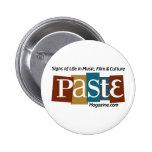 Paste Block Logo Url and Tag Colour Button