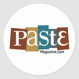 Paste Block Logo URL Colour Round Sticker