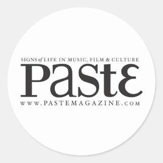 Paste Classic Black Logo Sticker