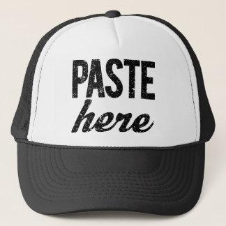 PASTE For Copy Paste Twins Trucker Hat
