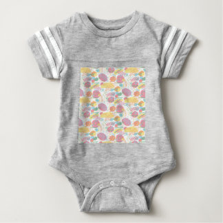Pastel Abstract Baby Bodysuit