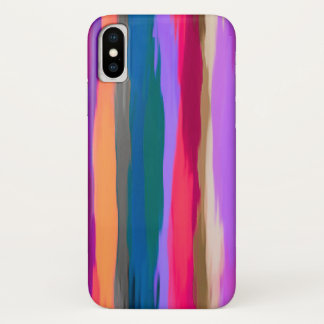Pastel Abstract Background #4 iPhone X Case