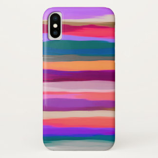 Pastel Abstract Background iPhone X Case