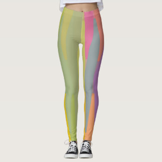 Pastel Abstract Leggings