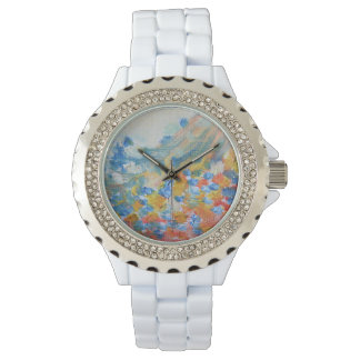 Pastel Abstract Oil Watch