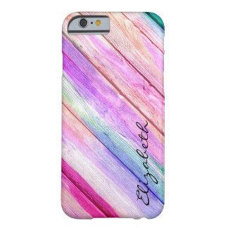 Pastel Abstract Pattern #3 Barely There iPhone 6 Case
