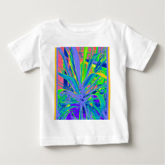 Pastel American Agave Cacti  Art by Sharles Baby T-Shirt