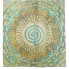 Pastel and Gold  Choku Rei Symbol in Mandala