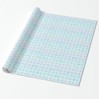 Pastel Aquarius Wrapping Paper