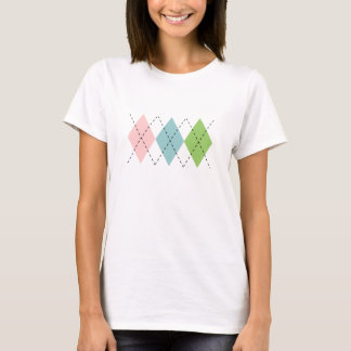 Pastel Argyle T-Shirt