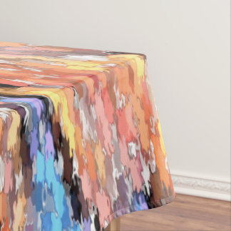 Pastel Autumn Tablecloth