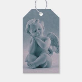 Pastel Blue Cherub 1st Corinthians Gift Tags