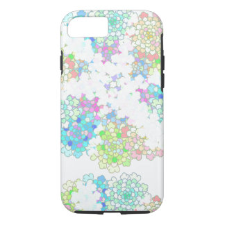 Pastel Blue Flowers Phone Case