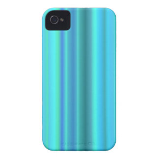 Pastel blue green rainbow strips iPhone 4 Case-Mate case