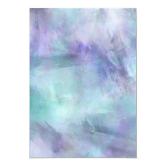 Pastel Blue Purple Watercolor Background Card