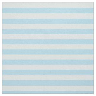 Pastel Blue Striped Fabric