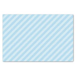 Pastel Blue Striped Tissue Paper