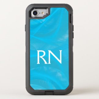 Pastel Blue Swirl RN phone case