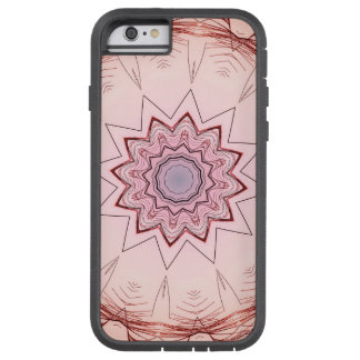 PASTEL BOHEMIAN KALEIDOSCOPIC GEOMETRIC MANDALA TOUGH XTREME iPhone 6 CASE