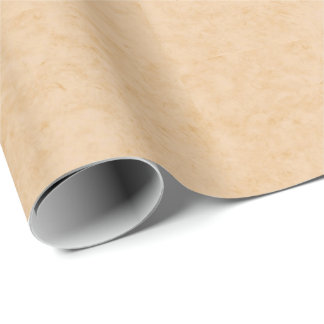 Pastel Brown Marble Wrapping Paper