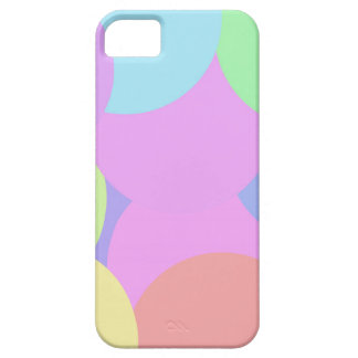 Pastel bubles iPhone 5 cover