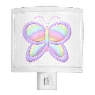 Pastel Butterfly Nite Lite