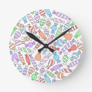 Pastel Candies Clock