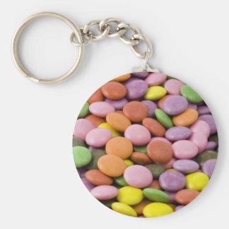 Pastel Candies Springtime Keychain