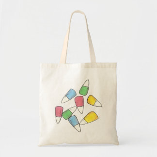 Pastel Candy Corn Candycorn Easter Basket Tote