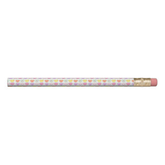 Pastel Candy Heart Valentine's Day Hearts Candies Pencil
