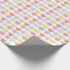 Pastel Candy Hearts Heart Valentine's Day Wrap Wrapping Paper