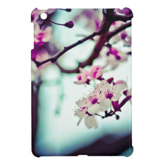 Pastel cherry blossom photo iPad mini cover