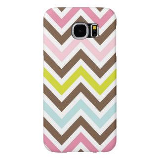 Pastel Chevron Galaxy S6 Case