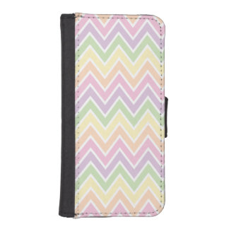 Pastel Chevron Stripe iPhone 5 Wallet