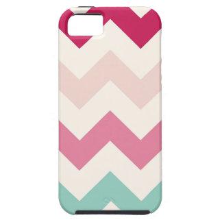 Pastel chevron zigzag nautical zig zag pattern iPhone 5 cases