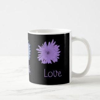 Pastel Coloful Chrysanthemums Coffee Mug