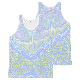 Pastel Color Flow Pattern All-Over-Print Tank Top
