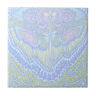 Pastel Color Flow Pattern Tile