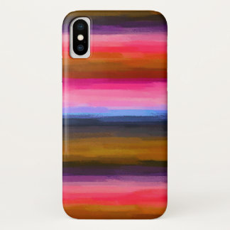Pastel Colored Abstract Background #2 iPhone X Case