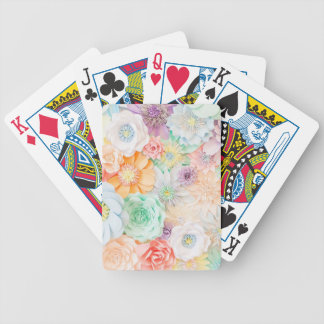 Pastel colored playing cards