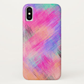Pastel Colorful Abstract Background #4 iPhone X Case